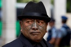 Tame Iti was jailed for two and a half years after being convicted, but an appeal is expected to be lodged tomorrow. Photo / Brett Phibbs