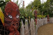 Te Parapara in Hamilton is said to be the first serious attempt to recreate a pre-European Maori garden.  Photo / Christine Cornege
