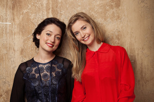 Antonia Prebble and Siobhan Marshall. Photo / Supplied
