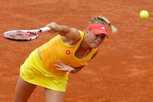Caroline Wozniacki breezed past Australia's Jarmila Gajdosova in their second round match. Photo / AP.