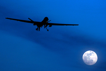 An unmanned U.S. Predator drone. File photo / AP 