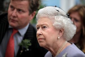 We are not amused: Queen Elizabeth II. Photo / AP