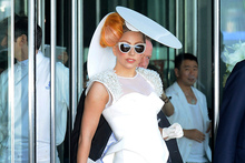Lady Gaga in Hong Kong. Photo / AP