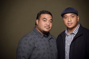 Nainz and Viiz Tupa'i, the Adeaze duo, won three Tui awards at the Pacific Music Awards. Photo / APN