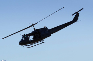 Three NZDF helicopters and 40 personnel will be sent to Papua New Guinea. File photo / Alan Gibson