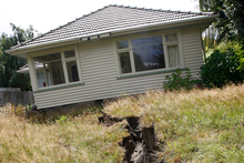 Many Christchurch families are facing winter in a caravan after the earthquakes. Photo /  Sarah Ivey