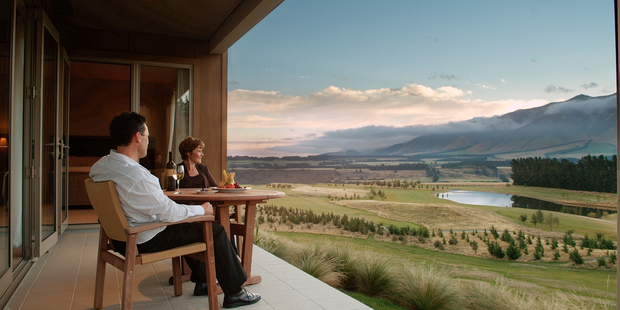 Hiroshi Hasegawa has bought the upmarket Terrace Downs golfing resort an hour's drive south of Christchurch. Photo / Supplied