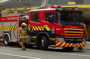 The fire service is investigating, along with police. File photo / Brett Phibbs