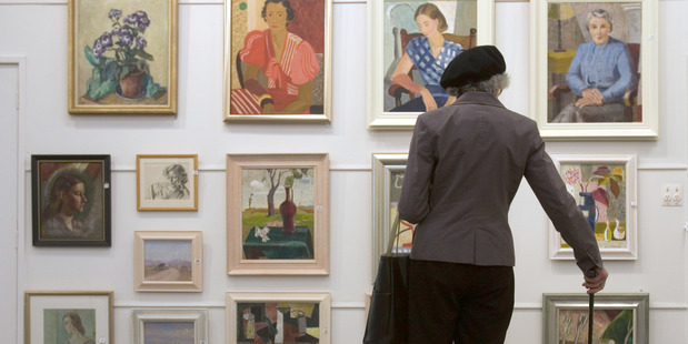 The art market is remaining strong despite the recession, experts say. Photo / Paul Estcourt