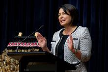 Education Minister Hekia Parata. Photo / Brett Phibbs