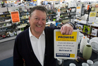 Rod Duke's Briscoe Group has become a sharemarket and retail darling, posting record profits. Photo / Paul Estcourt