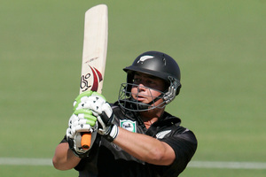 Jesse Ryder has been successful in the Indian Premier League, but is taking a cautious approach to returning to playing top-level cricket for New Zealand. Photo / Mark Mitchell