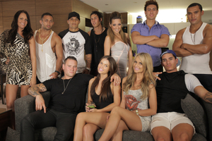 The cast of 'The GC'. Photo / Supplied