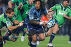 Ma'a Nonu isn't used to losing and the string of defeats suffered by the Blues has been a novel experience. Photo / Greg Bowker.