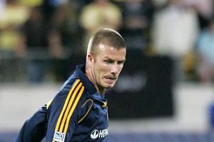 David Beckham.  Photo / Tim Hales