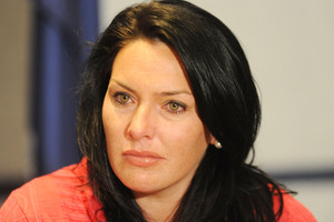 Kylee Guy, wife of murdered Feilding dairy farmer Scott Guy. File photo / NZPA
