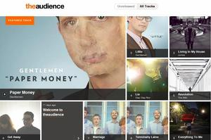 Screenshot from music website theaudience.co.nz. Photo / Supplied