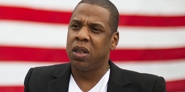 Jay-Z's new video with Kanye West is a violent riot.  Photo / AP
