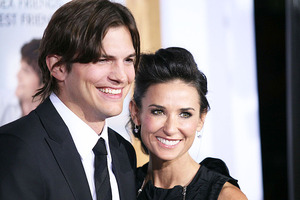 Ashton Kutcher and Demi Moore have sparked rumours that they're reuniting.  Photo / Supplied