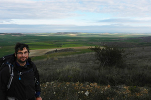 On the trail from Castrojeriz, descending to Hospital de San Nicolas. Photo / Simon Winter