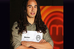 Brenton Thornton is the latest competitor to be eliminated from MasterChef New Zealand.  Photo / TVNZ