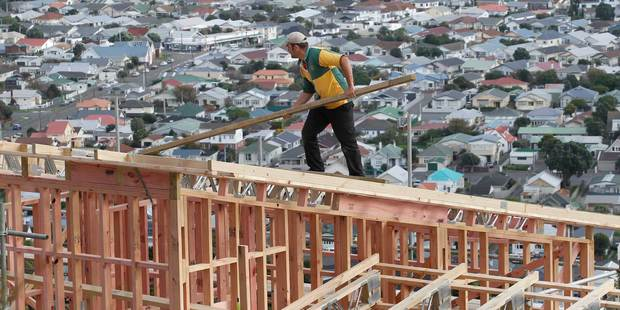 Building consent issuance slowed last month, despite increased demand  for new housing in Auckland. Photo / Mark Mitchell