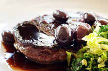 Cabernet and beef are a mix made in heaven. Photo / Doug Sherring