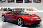 The 'Eric Clapton Ferrari' - a custom-built 458 badged SP12 EC. Photo / Supplied