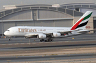 Bigger television screens will be installed on Emirates' new Boeing 777 fleet. Photo / Supplied