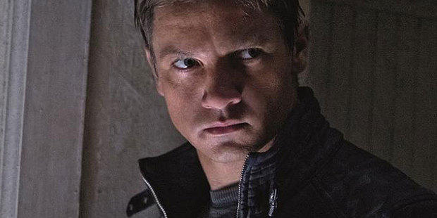 Jeremy Renner as Aaron Cross in The Bourne Legacy. Photo / Supplied