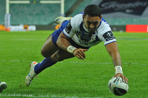 It took just 80 minutes on Monday night for Krisnan Nevada Inu to remind the 'Warriors Nation' the special talent their club had decided to release. Photo / Getty Images