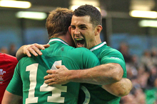 The Irish will also face an All Black pack minus the Tower of Power Brad Thorn, and there is a major hole in form and experience in the locking department. Photo / Getty Images