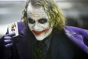 Heath Ledger's Joker won't be mentioned in Christopher Nolan's third and final Batman film. Photo / Supplied
