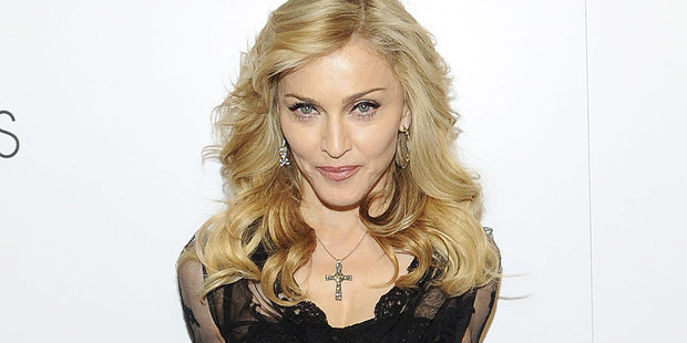Madonna has covered Lady Gaga's controversial Born This Way single in a new tour video leaked online. Photo / AP