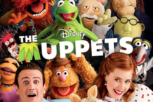 Jason Segel and Amy Adams star in The Muppets. Photo / Supplied