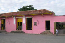 A pink house in the former pirate hangout of Camaguey. Photo / Jill Worrall