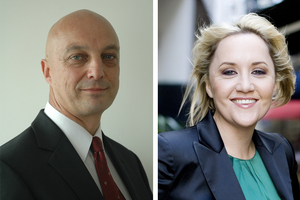 Kevin Hague (left) and Nikki Kaye. Photo / Supplied, APN