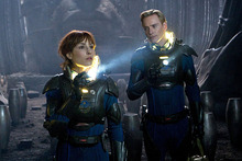 A scene from Prometheus.  Photo / Supplied