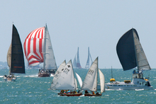 A sunny Auckland Anniversary Day regatta on the Waitemata Harbour. Photo / Brett Phibbs