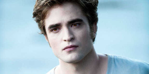 Robert Pattinsons says he's tired of his Twilight character. Photo / Supplied