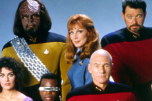 The hypospray used by Star Trek's Dr Crusher (centre) could now be something of a reality. Photo / Supplied 