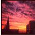 Instagram photo of the sunset tonight. Photo / Greg Bowker