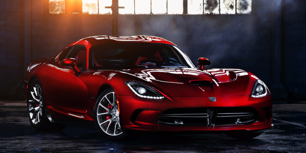 The recently-revealed 2013 SRT Viper. Photo / Supplied