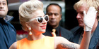 View: Lady Gaga arrives in Auckland