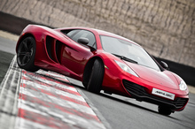 It hasn't been plain sailing for McLaren's MP412C. Photo / Supplied
