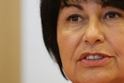 Education Minister Hekia Parata during her Beehive press conference in Wellington. Photo / Mark Mitchell