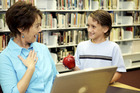 An apple for the teacher, or in this case plaudits for help on a tax hotline. Photo / Thinkstock