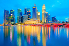 Singapore has a population of only 4.8 million but 17.1 per cent of its households are millionaires.  Photo / Thinkstock