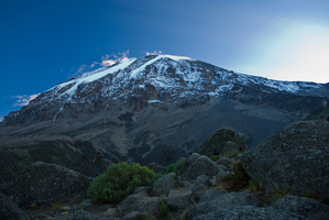 Lack of rainfall is behind glaciers melting on Mt Kilimanjaro, Africa's highest peak. Photo / Thinkstock