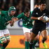 Julian Savea of the All Blacks breaks away during the International Test Match between the New Zealand All Blacks and Ireland. Photo / Getty Images.